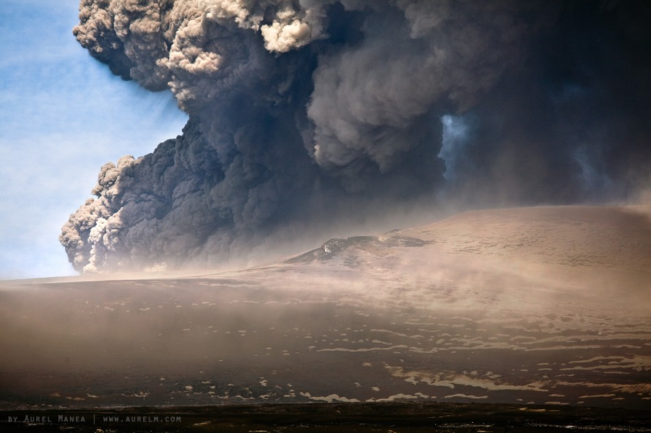 volcano Iceland Eyjafjallajkull 