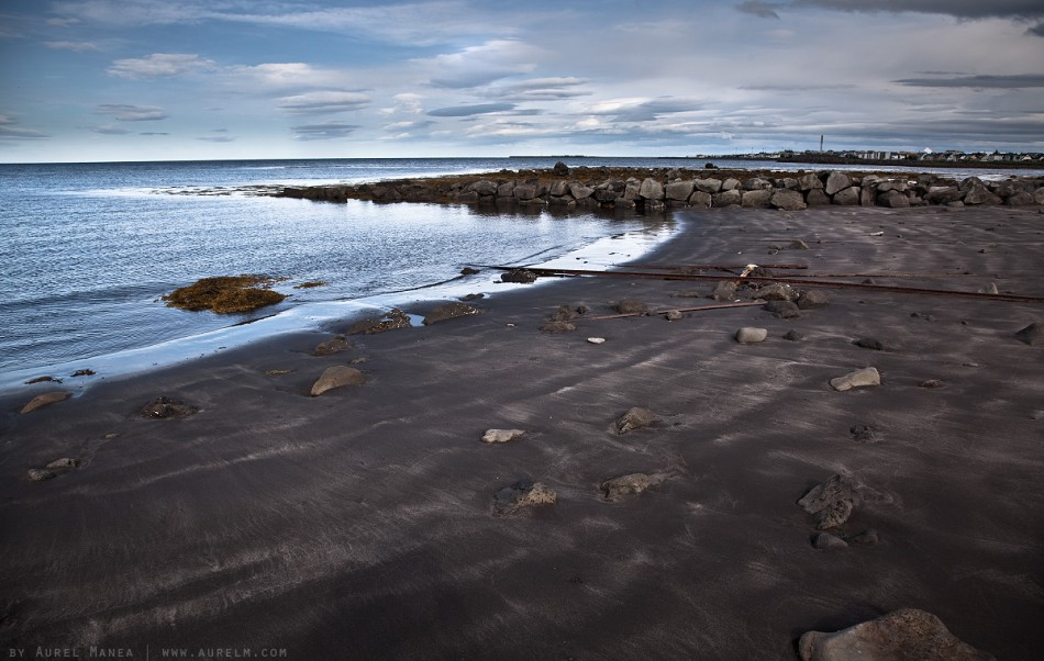 sand Reykjavk Iceland beach 