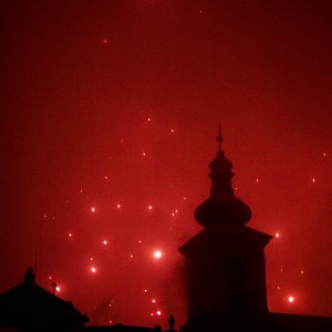 Transilvania Sibiu Romania party new year holidays fireworks concert