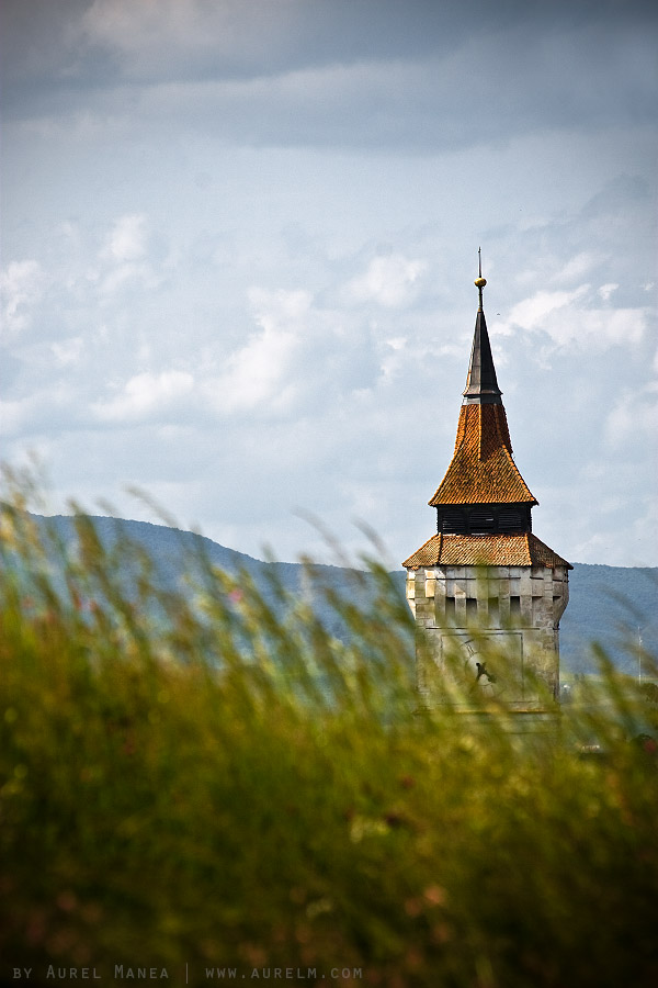 Transilvania-church-over-hill